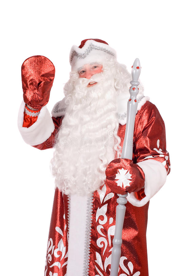 Download Portrait of a Ded Moroz stock image. Image of moroz, character - 22525303