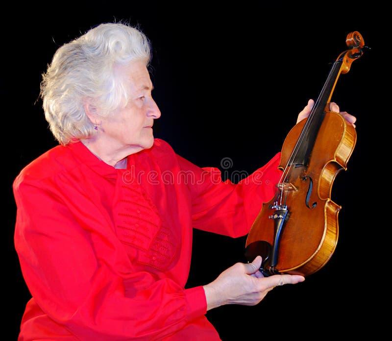 Portrait der älteren Frau lizenzfreie stockbilder