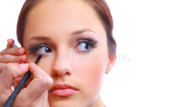 Portrait der attraktiven jungen erwachsenen Frau lizenzfreie stockfotos