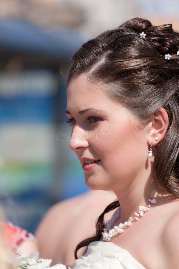 Portrait der Braut lizenzfreies stockbild