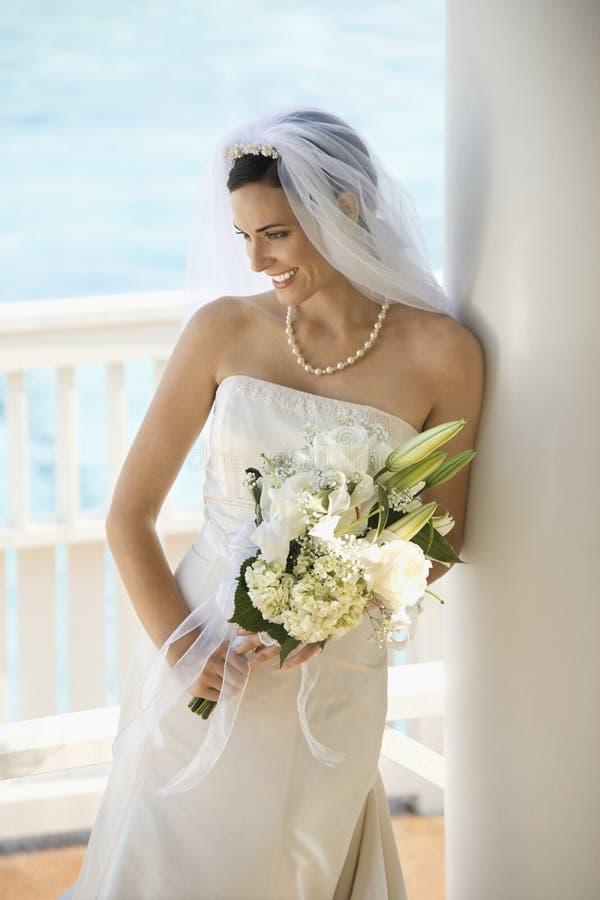 Portrait der Braut. stockbilder