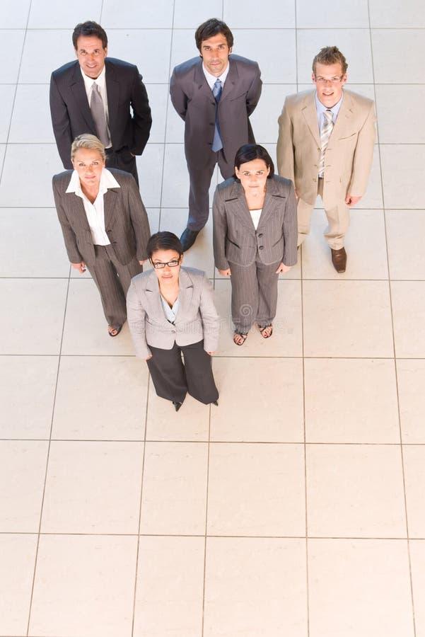 Portrait der Geschäftsleute lizenzfreie stockbilder