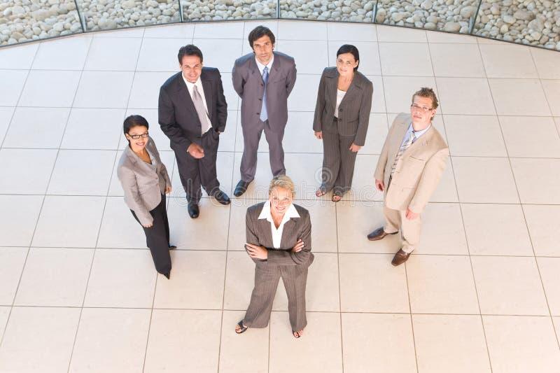 Portrait der Geschäftsleute stockfotos
