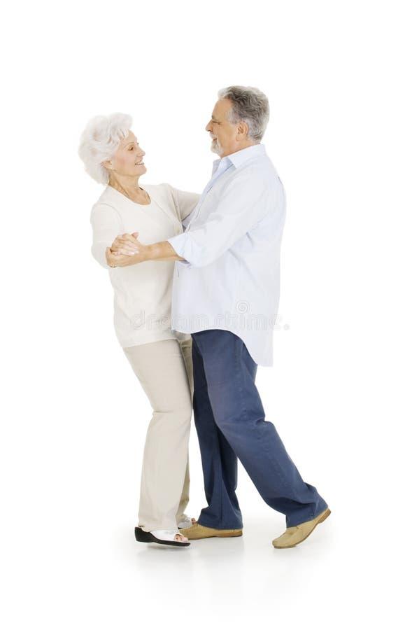 Portrait der glücklichen Paare der älterer Personen stockfotos