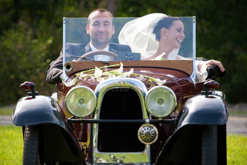 Portrait der Hochzeitspaare lizenzfreie stockfotos