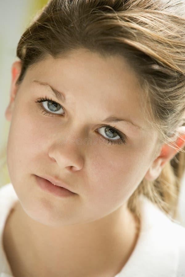 Portrait der Jugendlichen stockbild