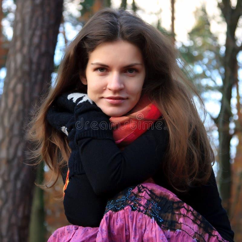 Portrait der jungen Frau stockfotos