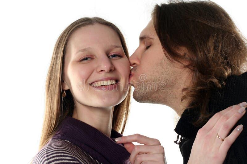 Portrait der jungen Paare stockfotografie