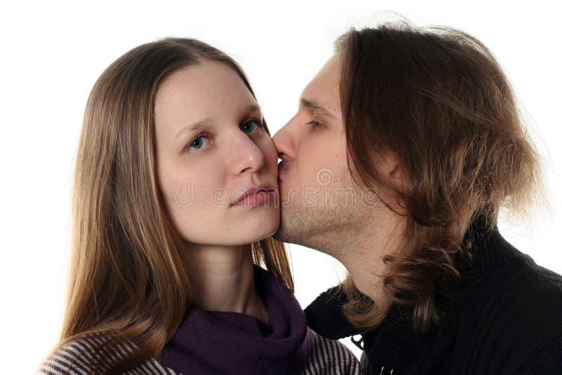 Portrait der jungen Paare stockfoto