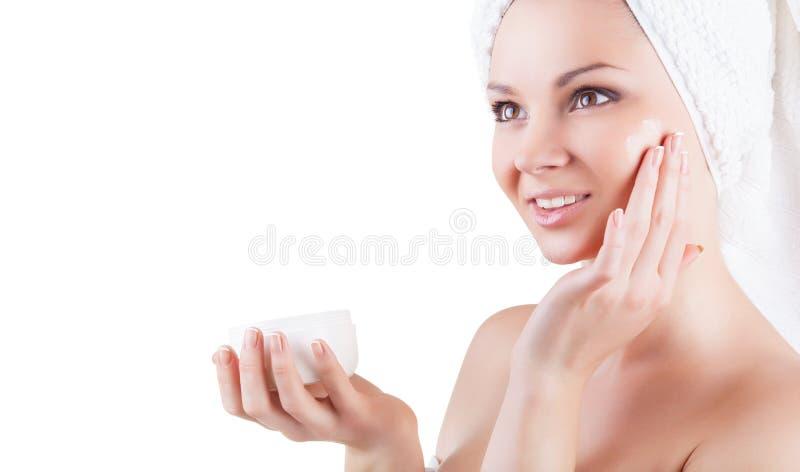 Download Portrait der schönen Frau stockbild. Bild von verfassung - 27732477