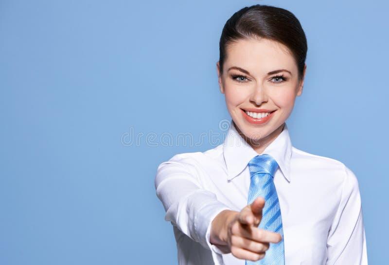Portrait der städtischen Geschäftsfrau stockfotografie