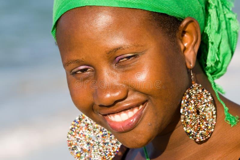 Portrait der Uganda-Frau stockfotos