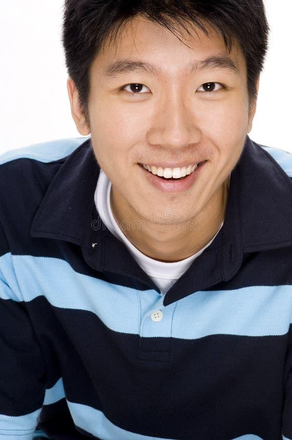 Portrait des asiatischen Mannes lizenzfreie stockfotos