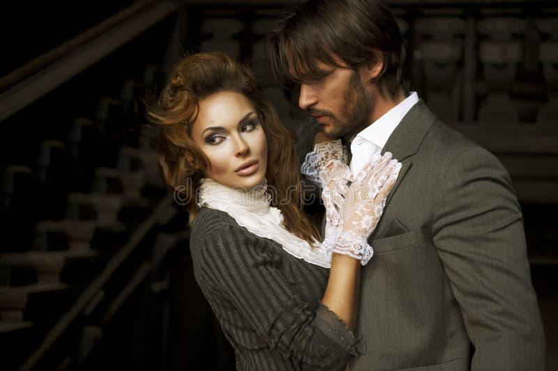 Portrait des couples images stock