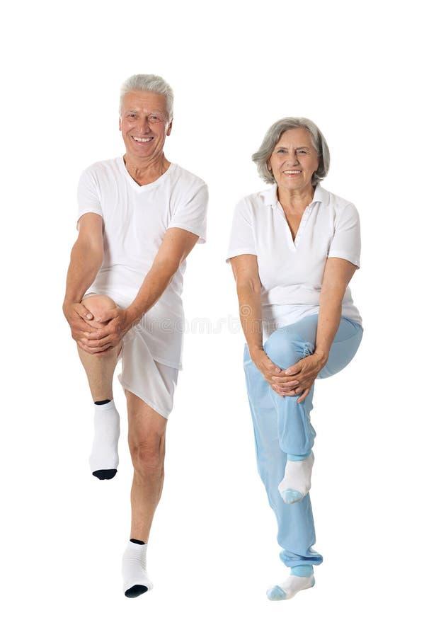 Portrait des couples plus anciens images stock