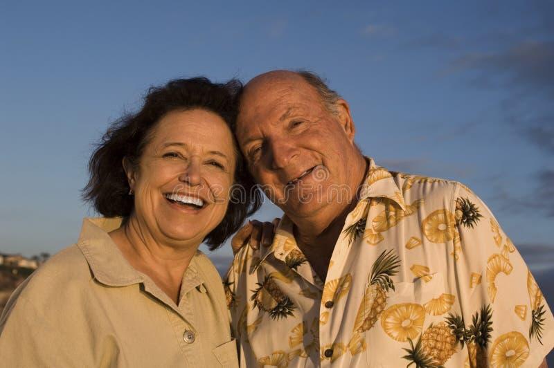 Portrait des couples supérieurs image libre de droits
