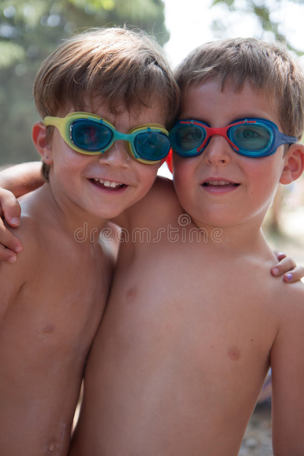 Portrait des enfants images stock