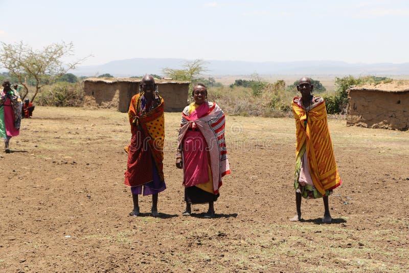 Portrait des femmes de massai photos libres de droits