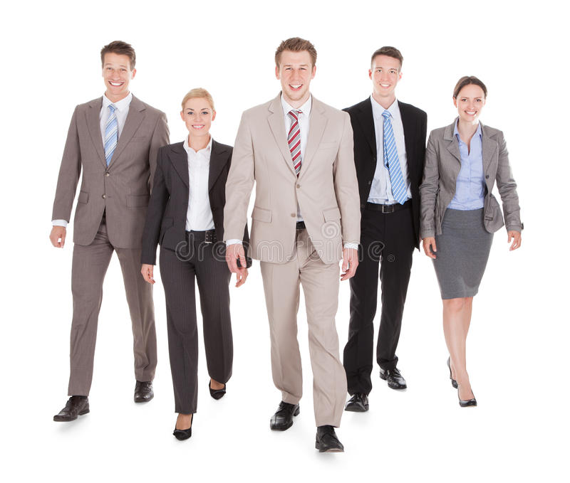 Portrait des gens d'affaires sûrs image stock
