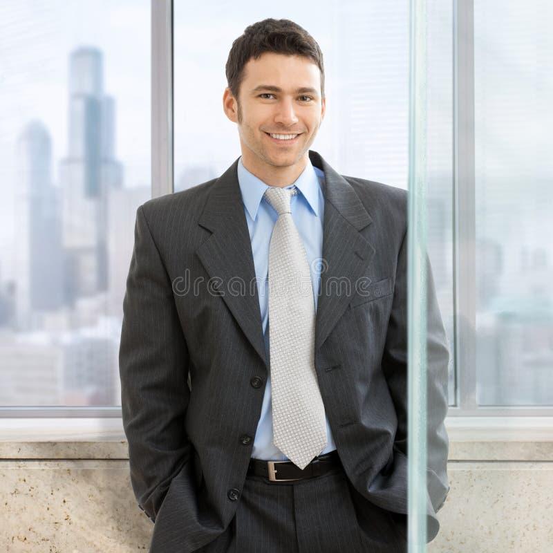 Portrait des Geschäftsmannes stockbilder