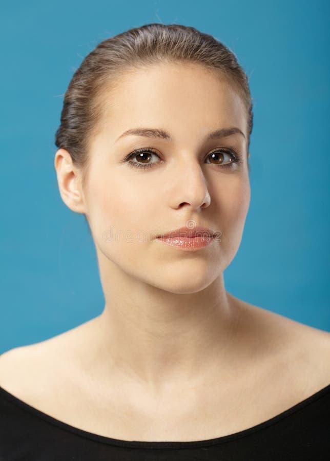 Portrait des hübschen Mädchens stockbilder