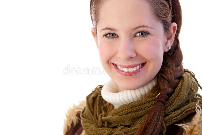 Portrait des hübschen Mädchens stockfotografie
