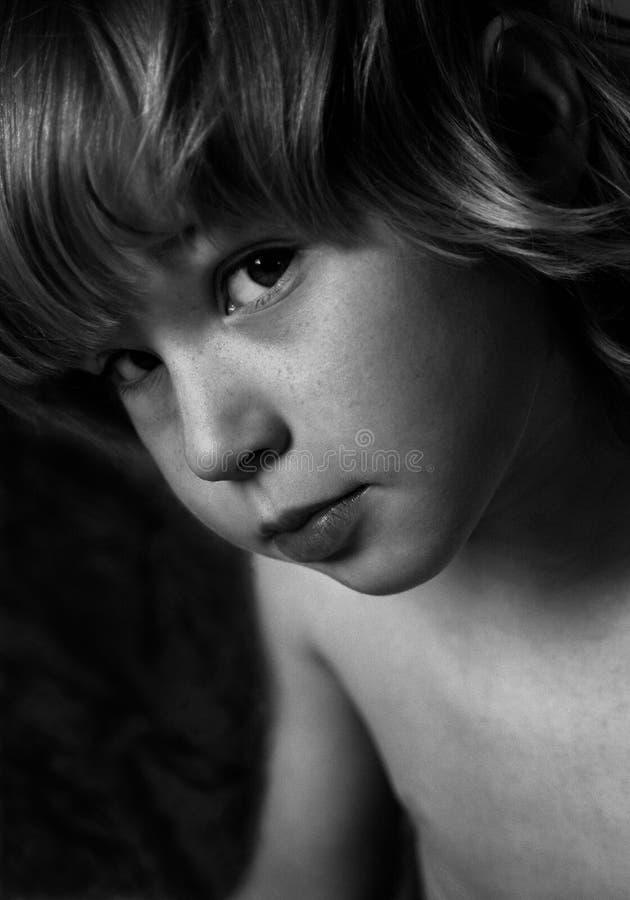 Portrait des Jungen stockfotos