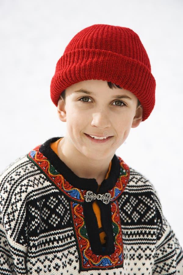Portrait des Jungen. lizenzfreies stockfoto