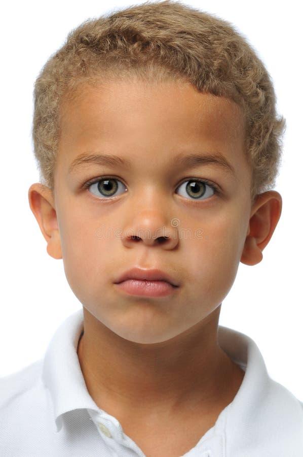 Portrait des Jungen lizenzfreies stockbild