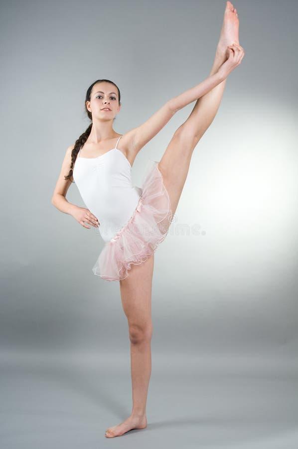 Portrait des jungen ballerin stockbilder