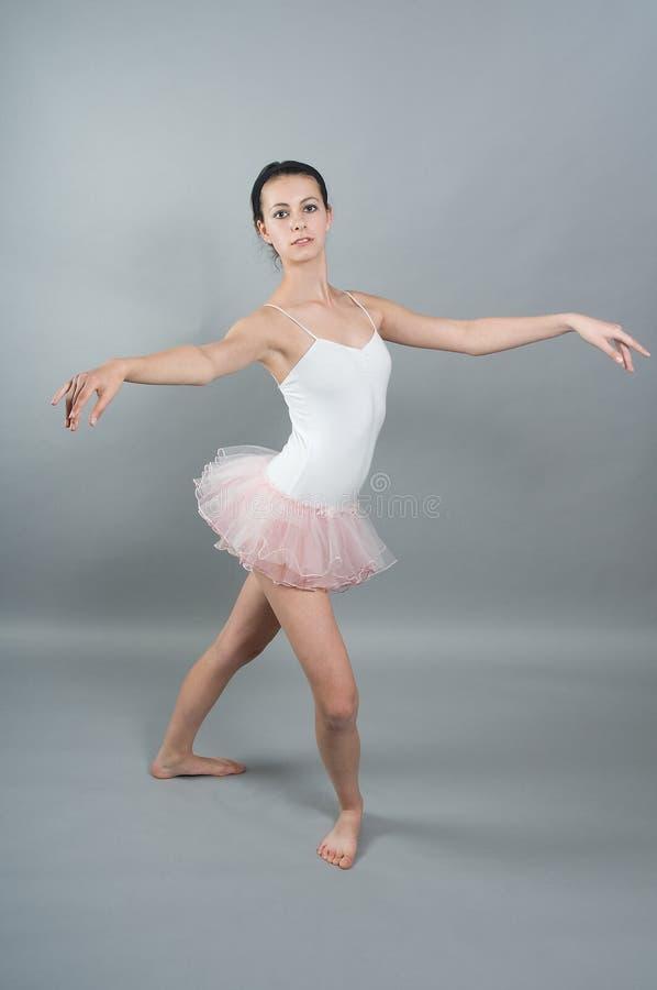 Portrait des jungen ballerin lizenzfreie stockfotos