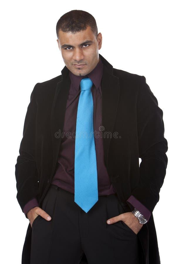 Portrait des jungen erfolgreichen Geschäftsmannes lizenzfreie stockfotos