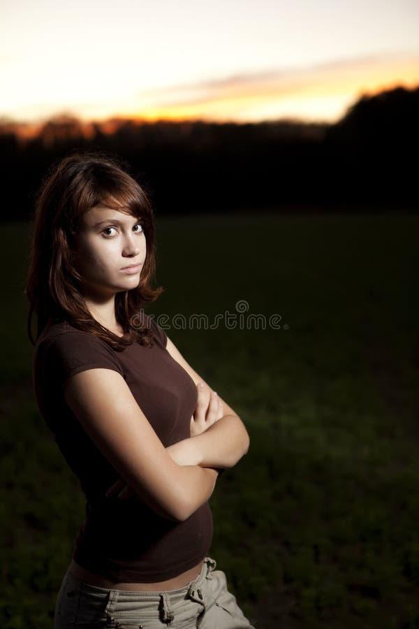 Portrait des jungen jugendlich lizenzfreie stockfotos