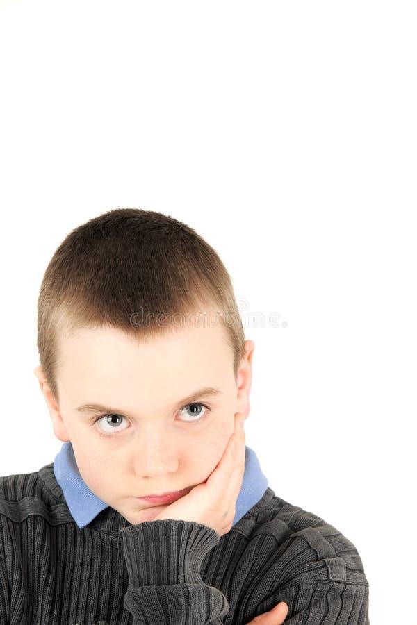 Portrait des jungen Jungen stockfotografie