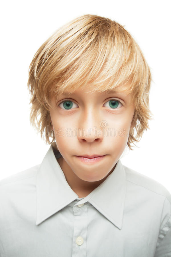 Portrait des jungen Jungen stockbilder