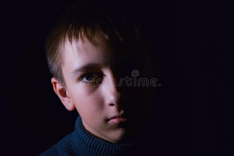 Portrait des jungen Kerls stockfotografie