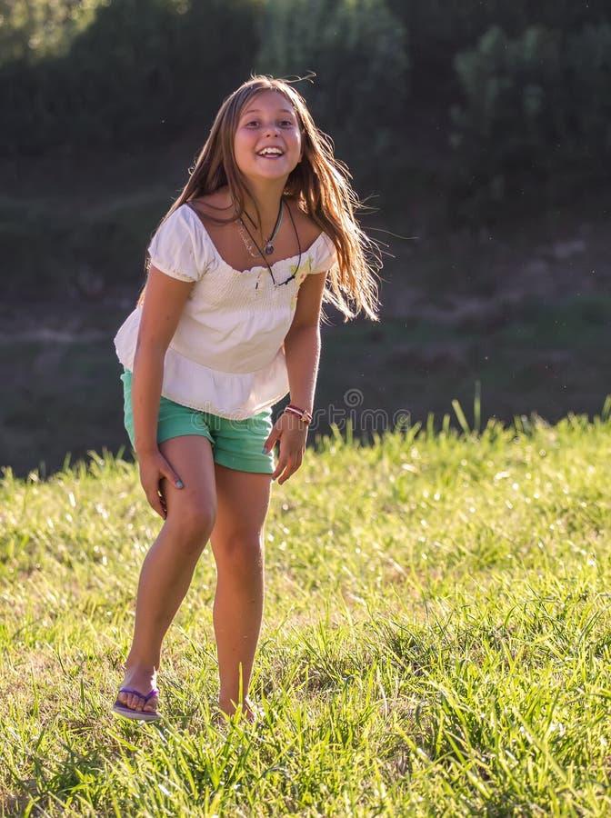 Portrait des kleinen Mädchens stockbild