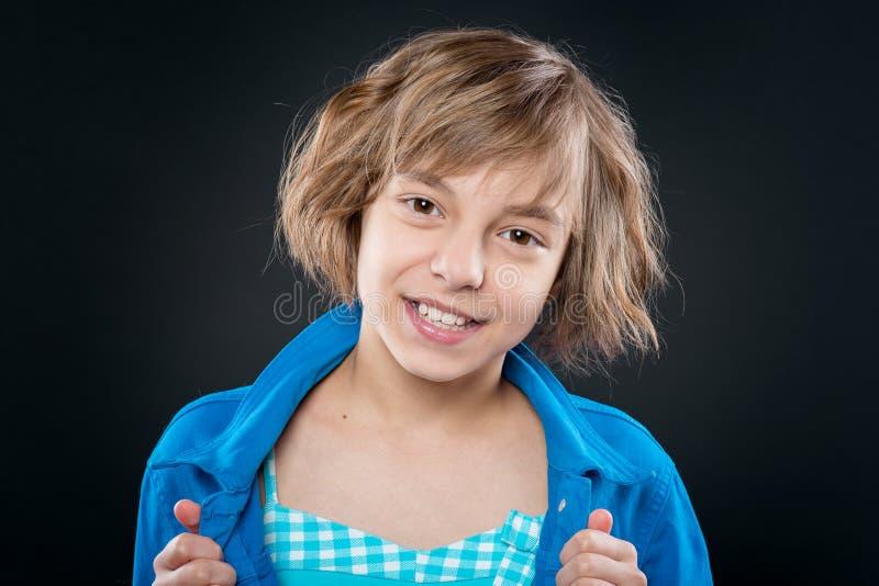 Portrait des kleinen M?dchens lizenzfreie stockfotos