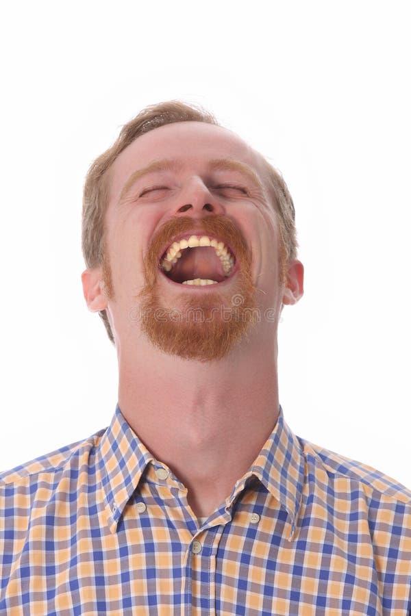 Porträt des lächelnden Mannes lizenzfreies stockfoto
