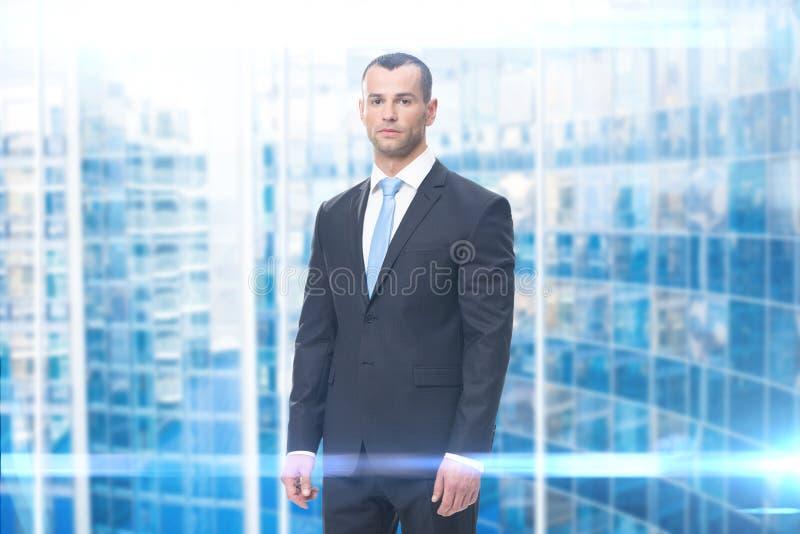 Portrait des Leitprogramms lizenzfreie stockfotografie
