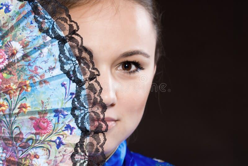 Portrait des Mädchens stockbilder