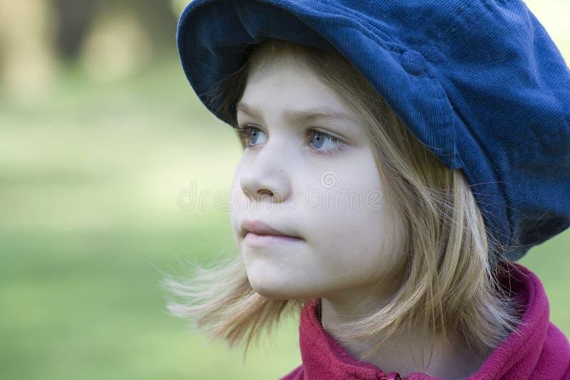 Portrait des Mädchens stockfotos