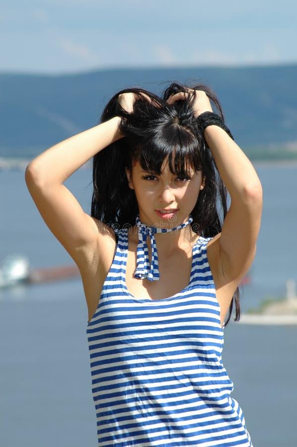 Portrait des Mädchens lizenzfreies stockbild