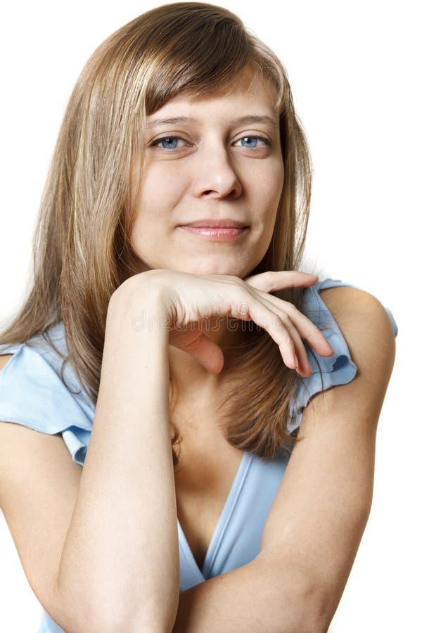 Portrait des Mädchens lizenzfreies stockfoto