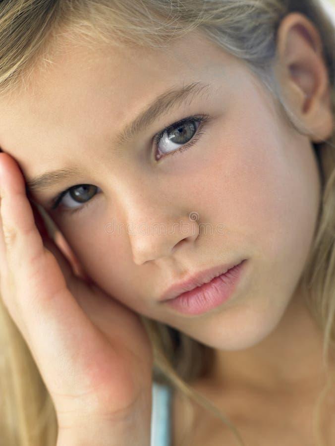 Portrait des Mädchens stockbild