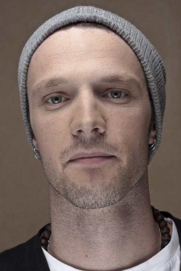 Portrait des Mannes stockfoto