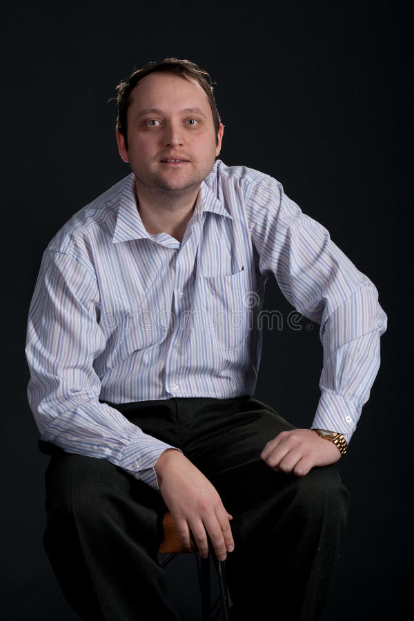 Portrait des Mannes stockfotos