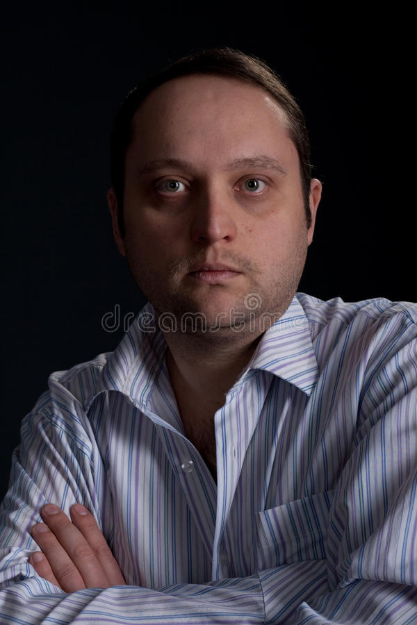 Portrait des Mannes stockfotografie