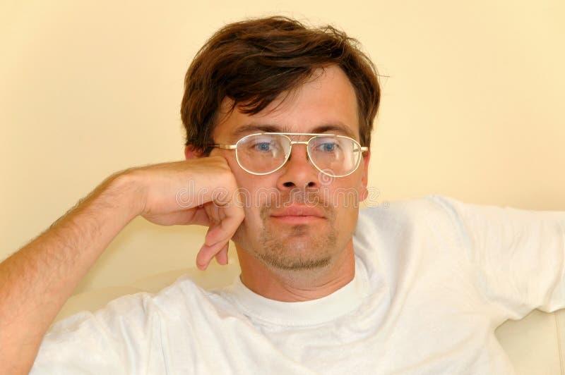 Portrait des Mannes lizenzfreie stockfotografie