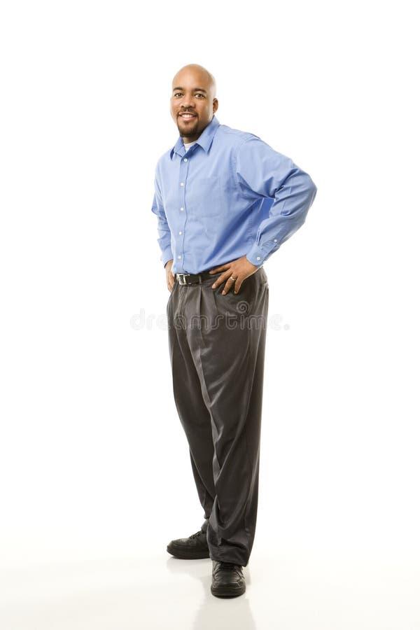 Portrait des Mannes. lizenzfreie stockfotografie